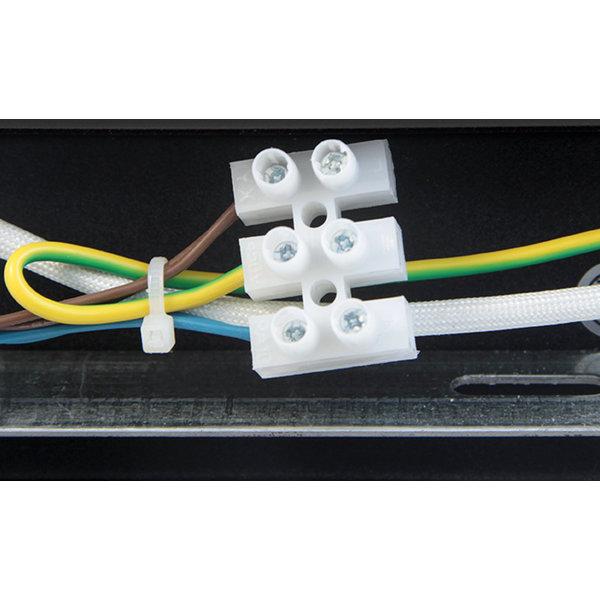 LED plafondspot mat zwart - 3 verstelbare spots - GU10 aansluiting