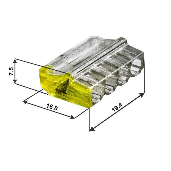 Conex Conex assortiment lasklemmen - voor massief stroomdraad