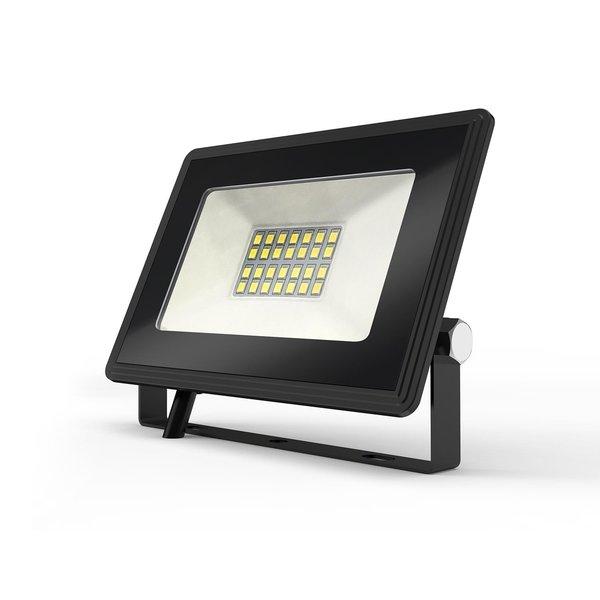 LED Schijnwerper breedstraler - 20W vervangt 180W - Lichtkleur optioneel - 3 jaar garantie