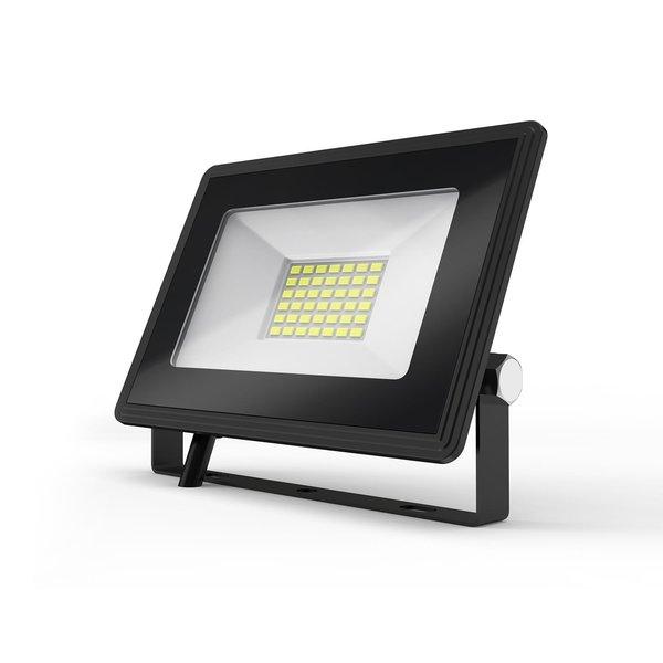 LED Schijnwerper breedstraler - 30W vervangt 270W - Lichtkleur optioneel - 3 jaar garantie