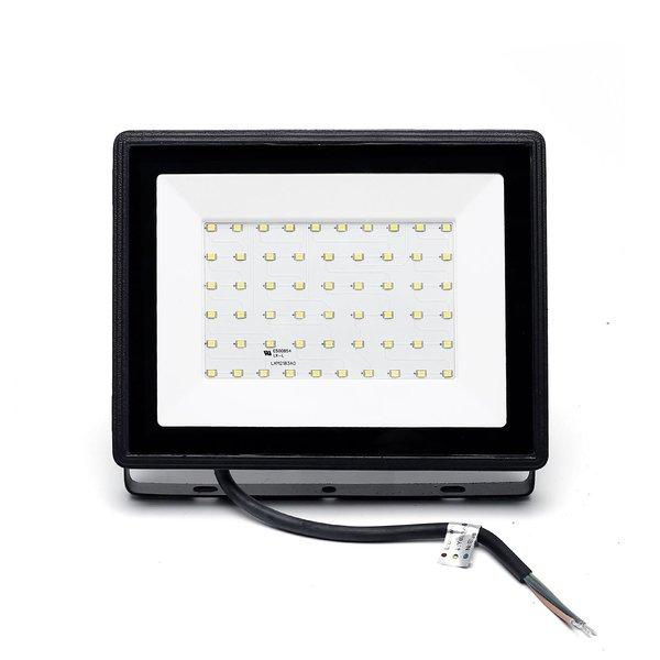 LED Schijnwerper breedstraler - 50W vervangt 450W - Lichtkleur optioneel - 3 jaar garantie