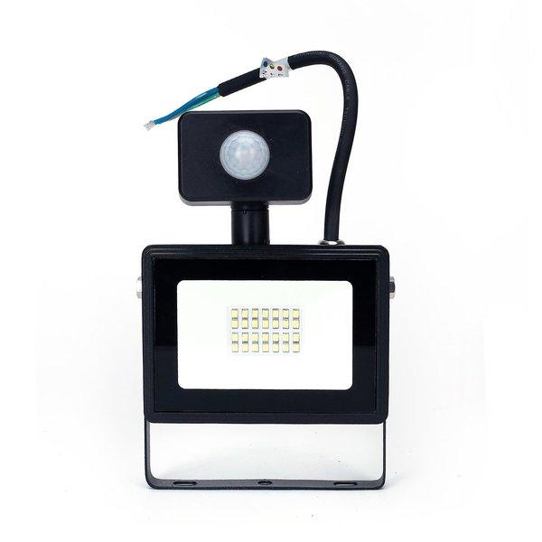 LED schijnwerper met bewegingssensor - 20W vervangt 180W - Lichtkleur optioneel - 3 jaar garantie