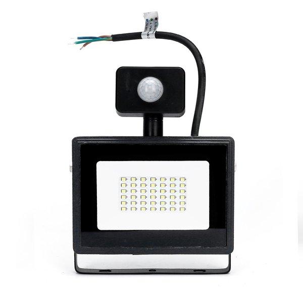 LED schijnwerper met bewegingssensor - 30W vervangt 270W - Lichtkleur optioneel - 3 jaar garantie