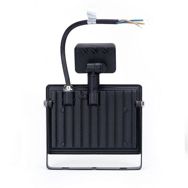 LED schijnwerper breedstraler - met bewegingssensor - 30W vervangt 270W - Lichtkleur optioneel - 3 jaar garantie