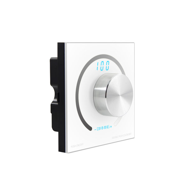1-10V Touch screen dimmer 800W met afstandsbediening