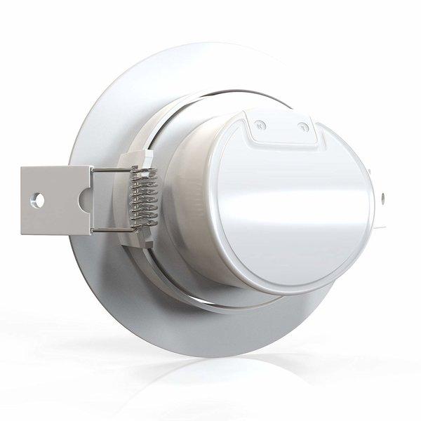 LED inbouwspot - 5W vervangt 35W - 6500K daglicht wit - Kantelbaar