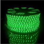 LED RGB lichtslang plat - 2 meter - 1-knops bediening - werkt direct op 230V