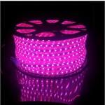 LED RGB lichtslang plat - 3 meter - 1-knops bediening - werkt direct op 230V