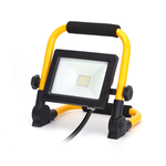 LED Werklamp - IP44 stootvast - 20W 1800lumen - 6500K daglicht wit - incl. 150cm aansluitstekker