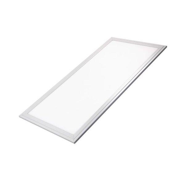 LED paneel 60x30cm Zilver - 3000K - 24W 2040lm  - 5 jaar garantie