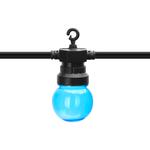 Lichtsnoer buiten RGB IP44 - 8 meter 6W - incl. 10 LED lampen verschillende lichtkleuren