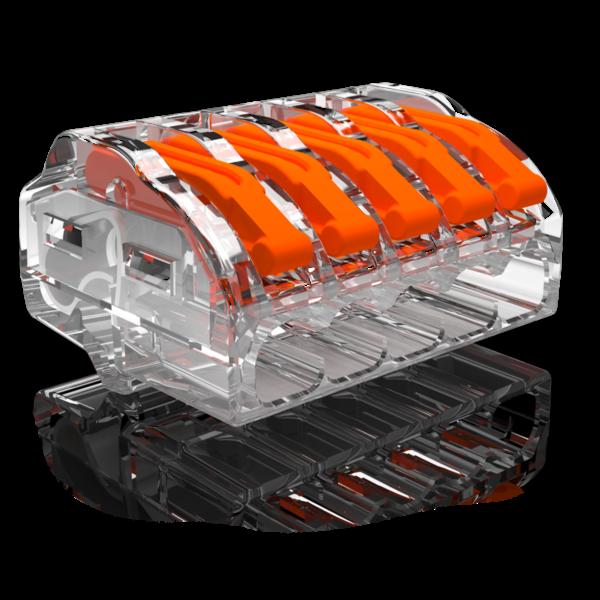 Conex 2 stuks Conex Lasklemmen kabelverbinders - 5 polig 0,5 tot 4mm²