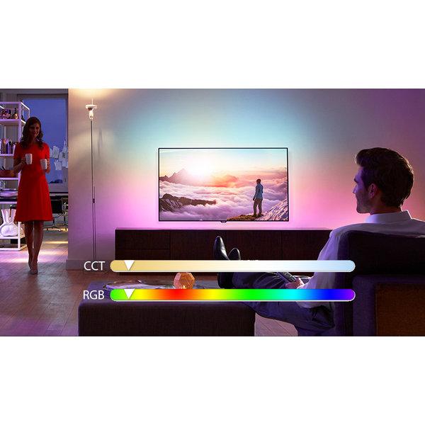 Aigosmart WiFi LED Lamp - E14 5W C37- RGB+CCT alle lichtkleuren - Bediening met de App