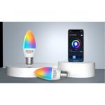 AigoSmart WiFi LED Lamp - E27 5W C37 - RGB+CCT alle lichtkleuren - Bediening met de App