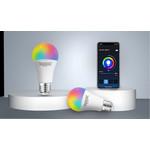 AigoSmart WiFi LED Lamp - E27 9W A60 - RGB+CCT alle lichtkleuren - Bediening met de App