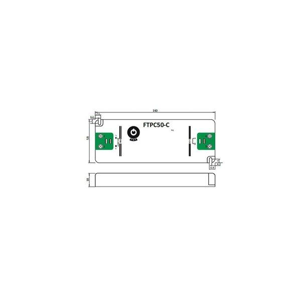 LED voedingsadapter dimbaar - 12V 50W 4.16A - geschikt voor 12V LED-verlichting