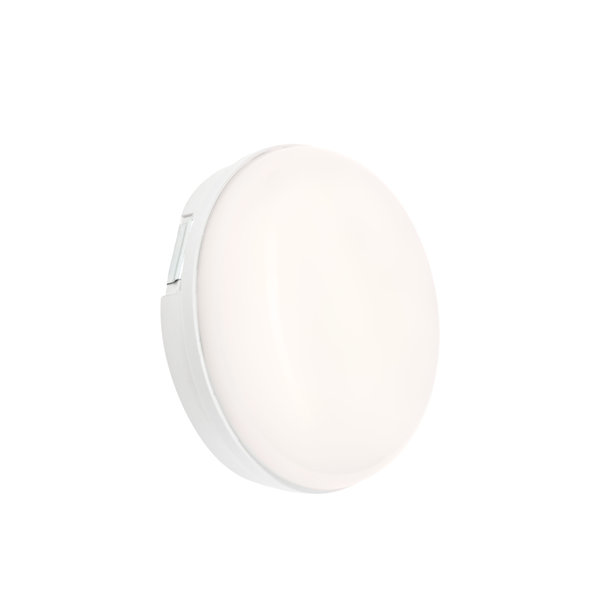 LED opbouwlamp Rond - 8W 4000K - IP54 spatwaterdicht
