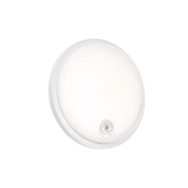 LED opbouwlamp Rond met sensor - 20W 4000K - IP54 spatwaterdicht