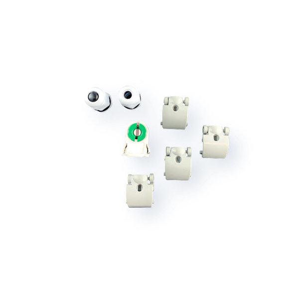 1.2m 18W LED TL Waterdichte armatuur IP65 + LED TL buis 6000K 865 daglicht wit compleet