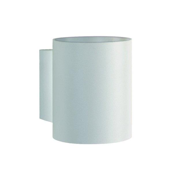 LED Wandlamp Rond - Mat Wit met G9 fitting - 100x80x100mm