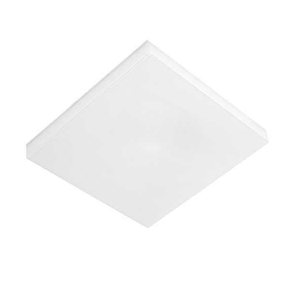 LED plafondlamp vierkant ECO - 18W 1250lm - IP44 vochtbestendig - 4000K helder wit licht