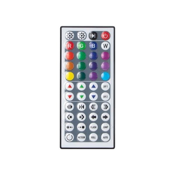 LED strip digitaal RGB - 5m 12V 24W - 30 LEDs p/m - Complete set