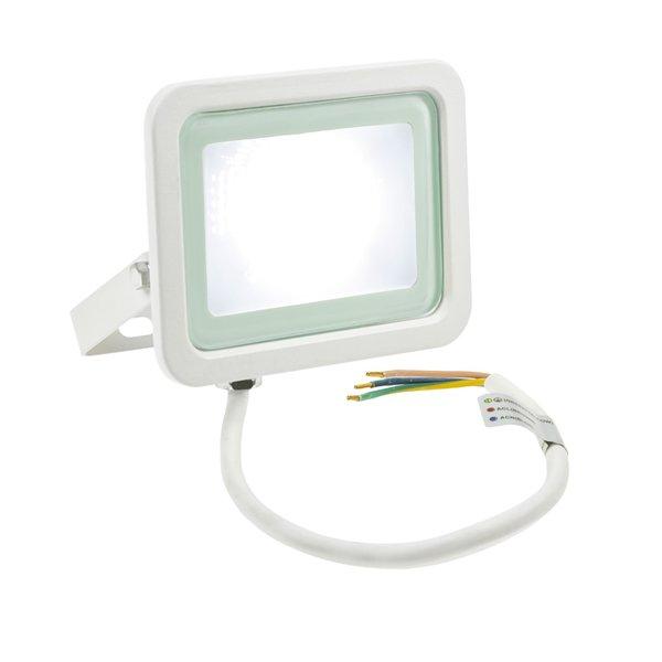 Spectrum LED schijnwerper Wit - 20W IP65 - Lichtkleur optioneel - 3 jaar garantie