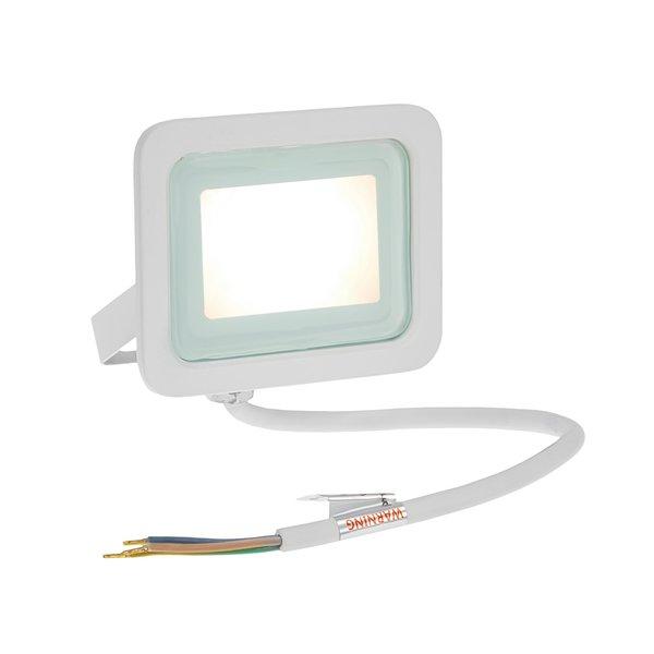 Spectrum LED schijnwerper Wit - 10W IP65 - Lichtkleur optioneel - 3 jaar garantie