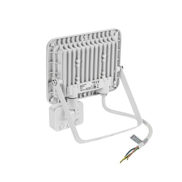 Spectrum LED schijnwerper met sensor Wit - 30W IP44 - Lichtkleur optioneel - 3 jaar garantie