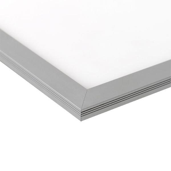 ACTIE! LED paneel 60x60cm - Zilveren rand - 6000K 865 - 40W 3600lm - Flikkervrij - 5 jaar garantie