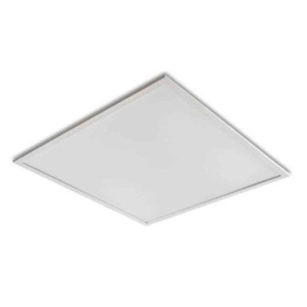 ACTIE! LED paneel 60x60cm - Zilveren rand - 4000K 840 - 40W 3600lm - Flikkervrij - 5 jaar garantie