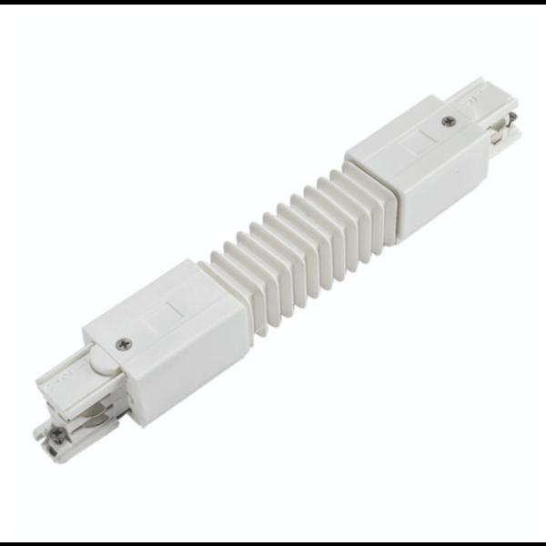 LED Railspot flexibele connector wit - Universeel 3-Phase