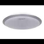 Aigostar LED Plafondlamp Zilver rond - 18W Lichtkleur optioneel - 3 jaar garantie