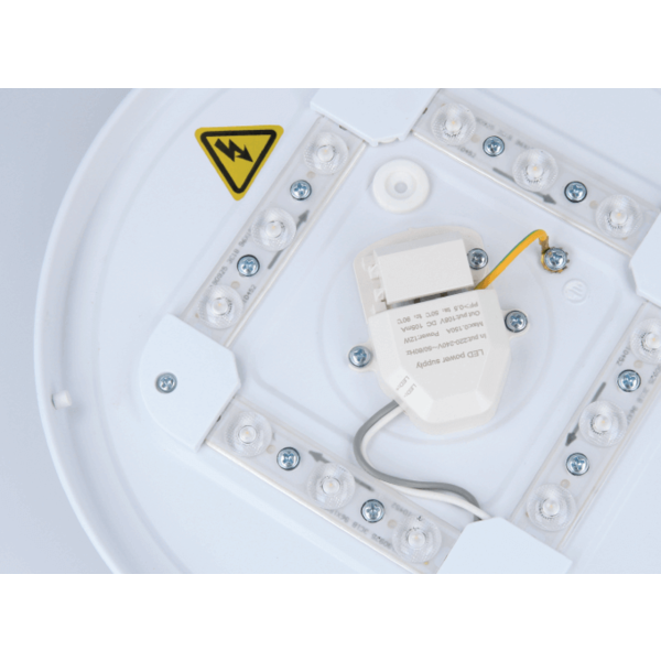Aigostar LED Plafondlamp Wit rond - 18W Lichtkleur optioneel - 3 jaar garantie
