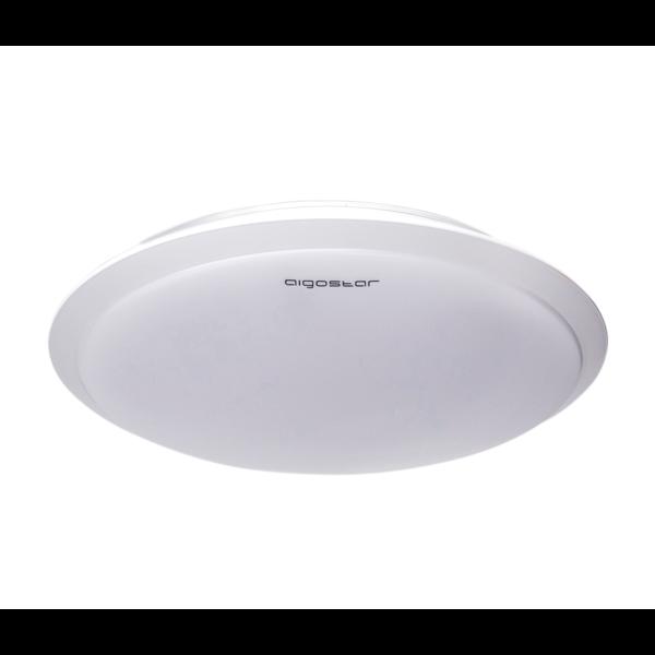 Aigostar LED Plafondlamp Wit rond - 24W Lichtkleur optioneel - 3 jaar garantie