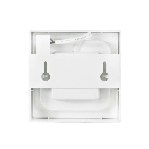 LED Plafonnière - Vierkante plafondlamp - 12W vervangt 55W - Helder wit 4000K