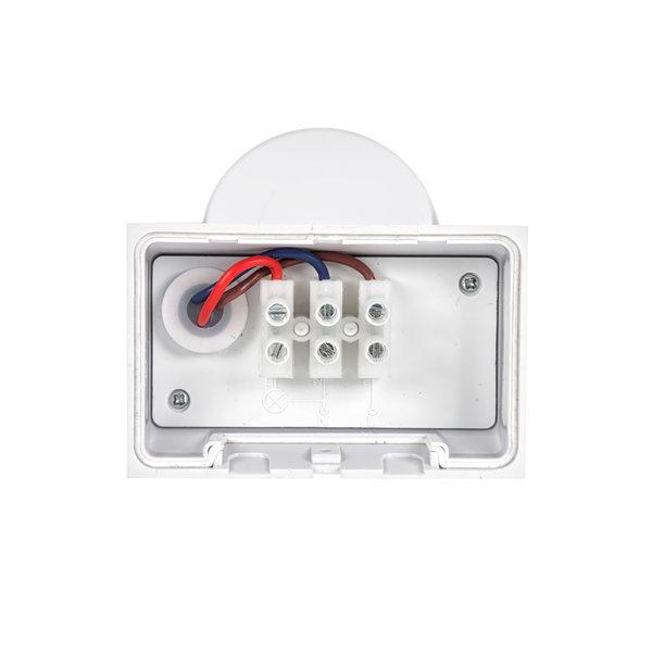 WiFi slimme pir sensor opbouw - IP65 180° 1200W 12m - 5 jaar garantie