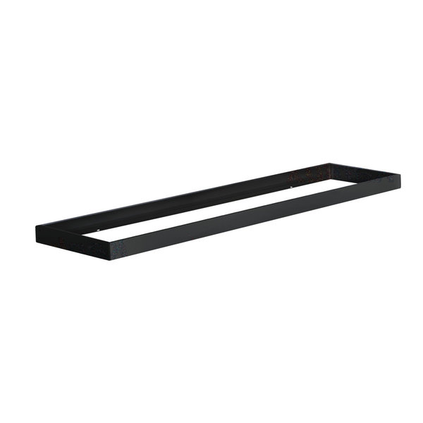 Kanlux LED paneel opbouw - 120x30cm Framesysteem  - Zwart aluminium - 5cm hoog