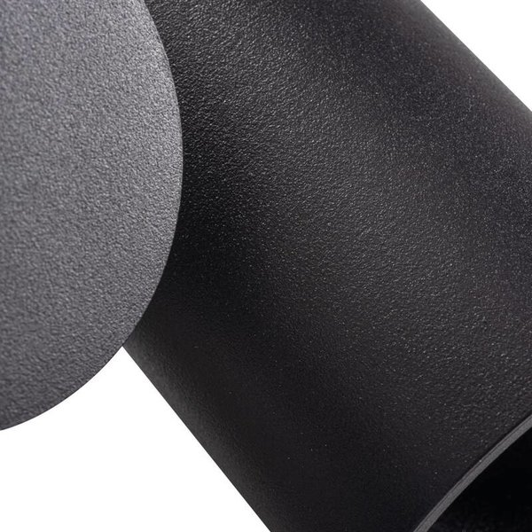 Kanlux LED GU10 plafondspot verstelbaar zwart - Enkelvoudig voor 1 LED GU10 spot