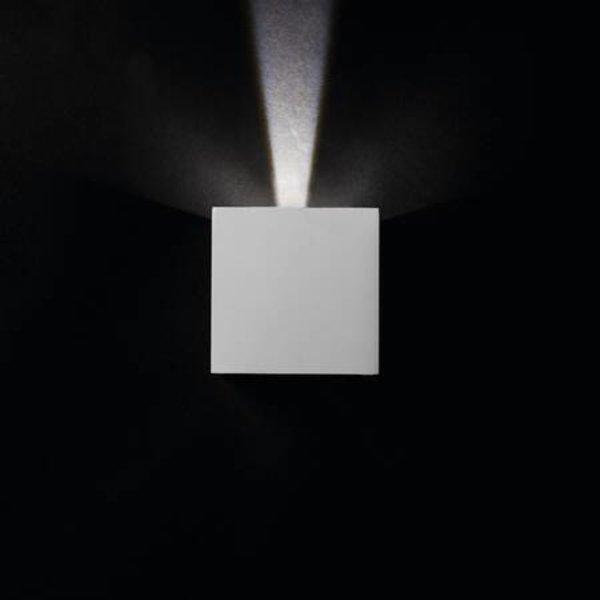 Kanlux LED wandlamp wit IP54 - 7W 4000K helder wit licht - verstelbare lichtspreiding
