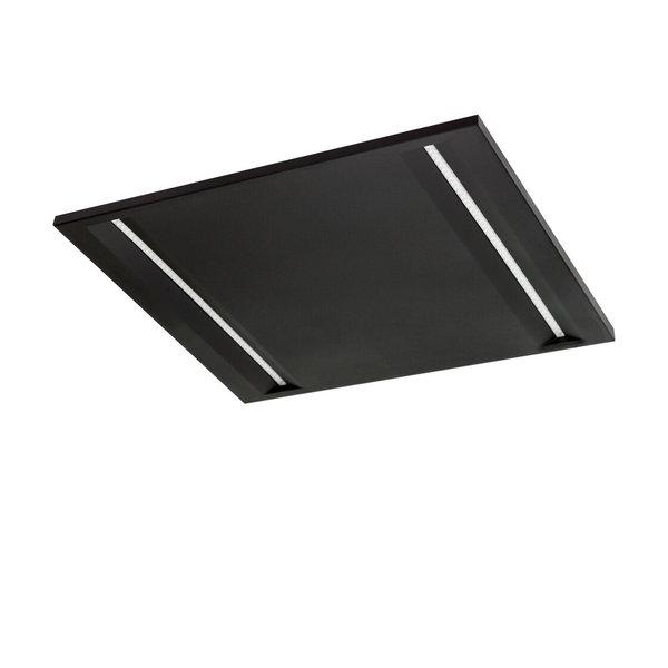 LED paneel 60x60cm Modern zwart UGR<16 - 44W 120lm p/w - 4000K 840 - Philips driver - 5 jaar garantie