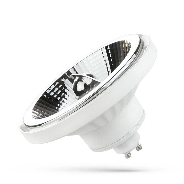 Spectrum LED AR111 GU10 spot wit - 15W 3000K warm wit licht - 45° lichtspreiding