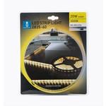 LED strip 5M 300LEDS 3000K 20W met aansluitstekker