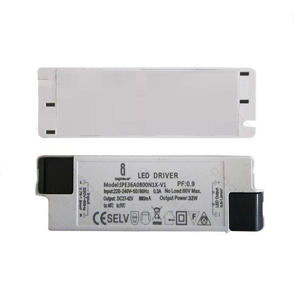 LED paneel driver flikkervrij - 32W 27-42V 800mA - Niet dimbaar
