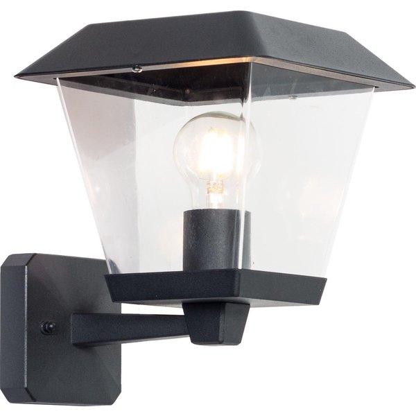 LED wandlamp - Modern hoog - E27 fitting - IP44 Buitengebruik - Geschikt voor 1 E27 lamp