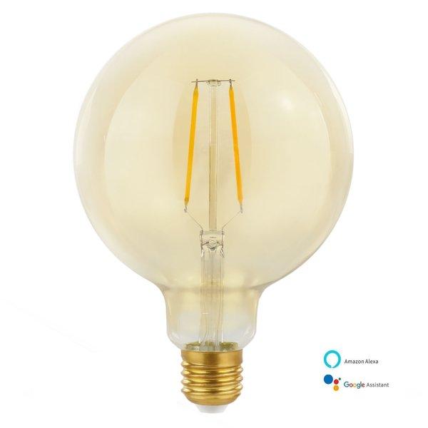WiFi LED filament lamp - E27 5W - DimTone 1700K - 2700K - Bediening met de App