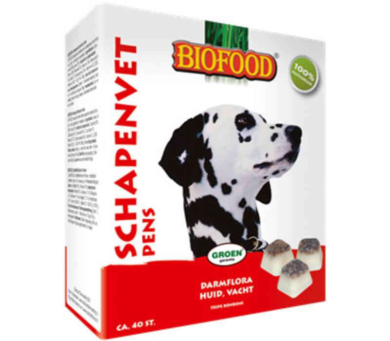 Biofood | Schapenvet maxi pens | pens | vet | 40 stuks