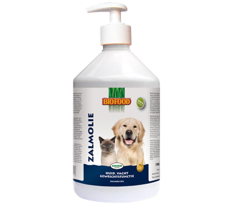 Biofood | Zalmolie | 500 ml | Zalm