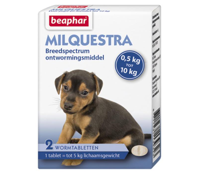 Beaphar | Milquestra pup | 2 tab | 0,5 tot 10 kg