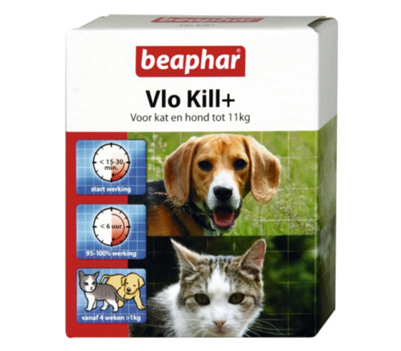 Beaphar   Vlo kill hond en kat tot 11 kg   6 tab